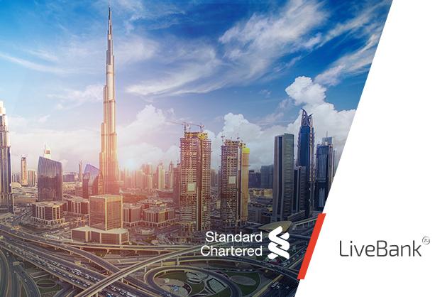 Globalny Standard Chartered Bank wdrożył LiveBank w swoich oddziałach w Zjednoczonych Emiratach Arabskich i w Kenii